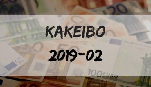 節約生活…東京一人暮らしの家計簿【収入・支出】【2019年2月】