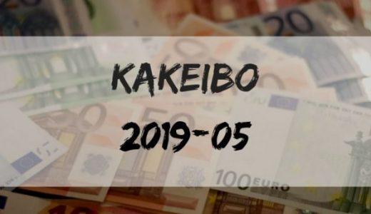 祝令和。東京一人暮らしの家計簿報告(収入/支出)【2019年5月】