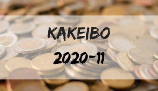 FIRE達成に向けて…30歳東京23区一人暮らしの家計簿公開【2020年11月】